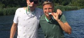 Europa, die erste: Flo und Uwe sind Vize-Europameister mit dem deutschen M35-Team