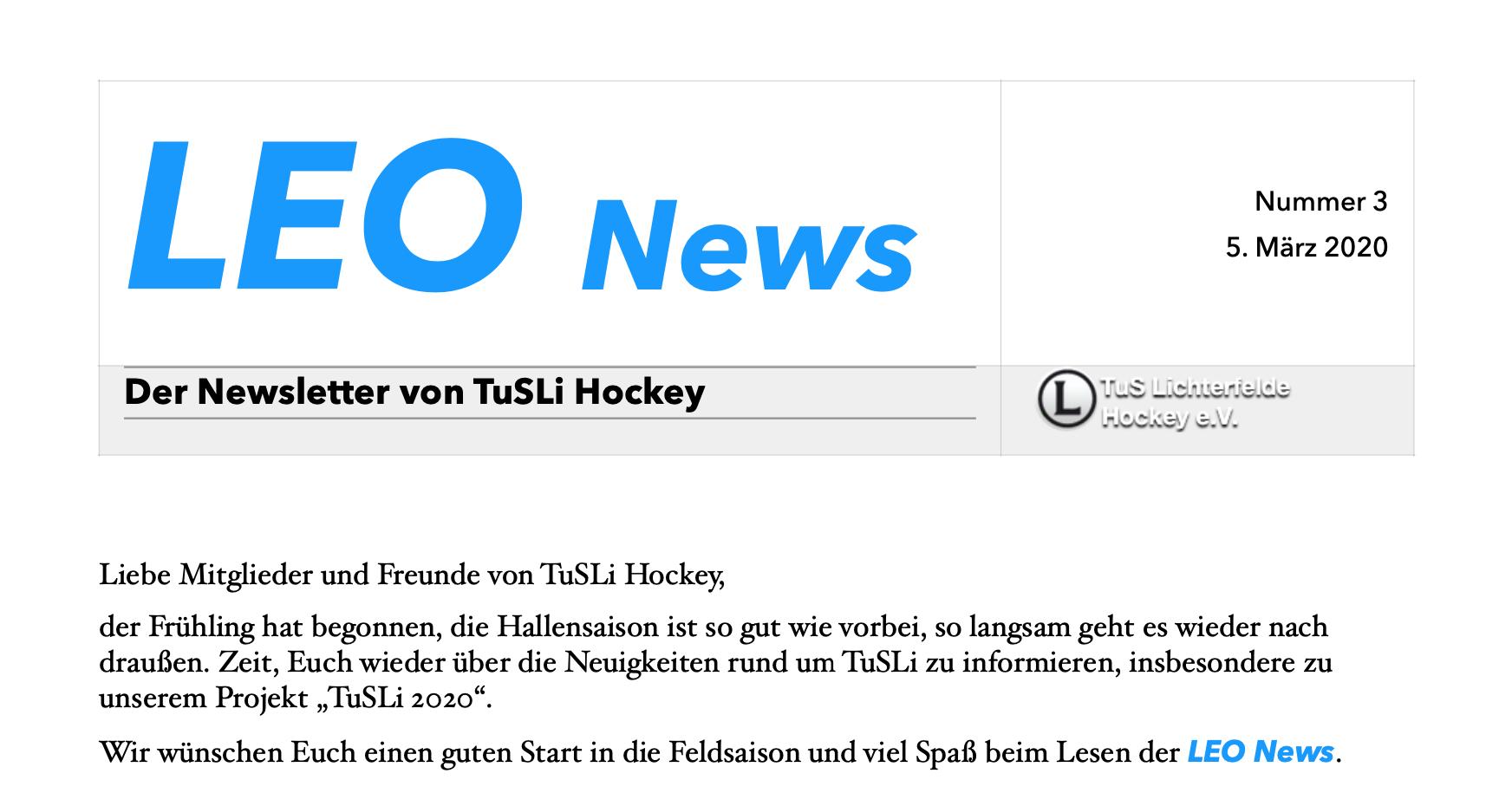 LEO News 3