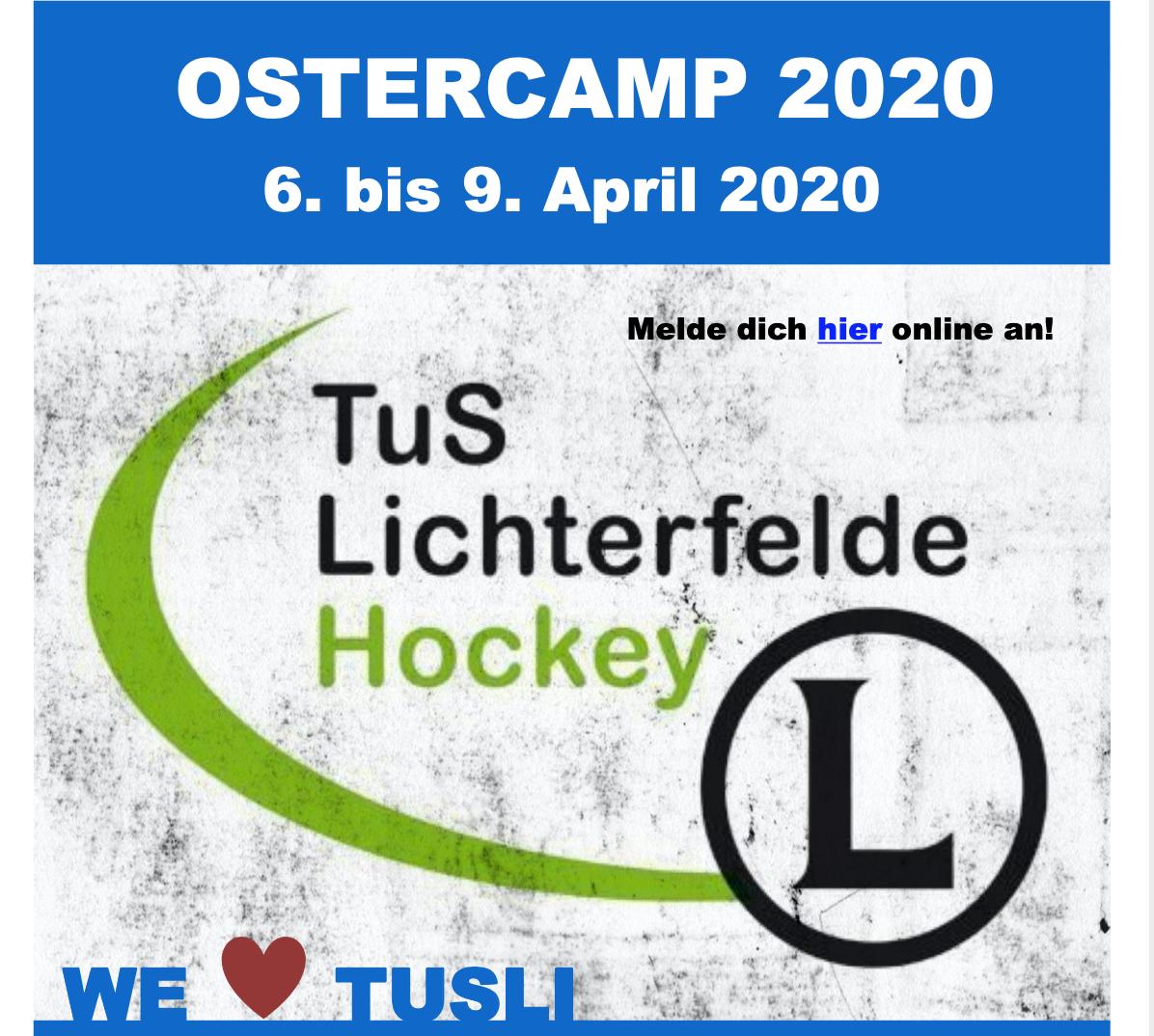 Ostercamp 2020 – seid mit dabei!